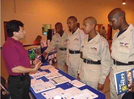 career fair and cadets